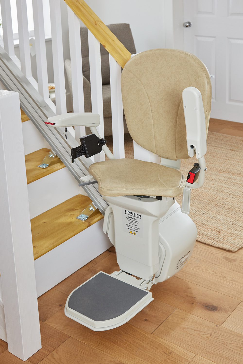 AmeriGlide - Horizon Plus Stair Lift - Factory Reconditioned